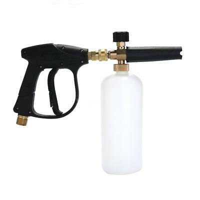 Adjustable Car Wash Watering Can 1L with HDPE and Brass Soap Foam Pressure N8W3