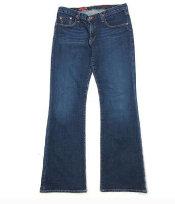 AG Adriano Goldschmied The Angel Womens Midrise Bootcut Jeans Size 31x32 $225