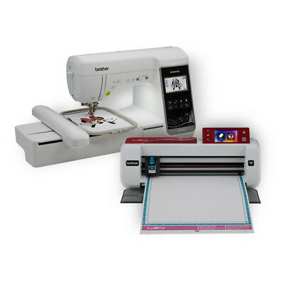 Brand New Brother Disney Embroidery and Sewing machine + Scan n Cut