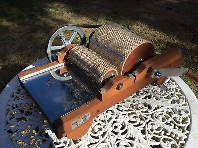 DRUM CARDER - MORRISON, Made in New Zealand