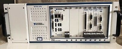 National Instruments PXIe 8135 Controller,PXIe 1078 Chassis, and More