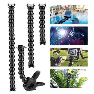 Durable Flexible Clamp Arm Mount for GoPro Hero 3/3+/4 Camera Photography Kit LJ