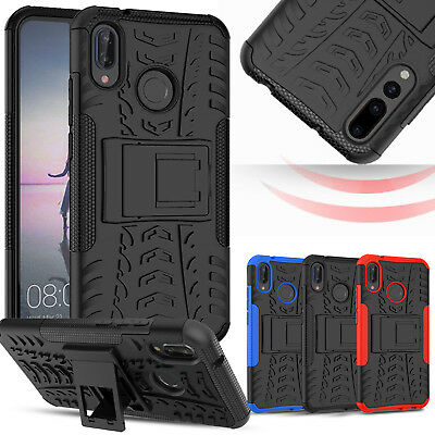 Heavy Duty Case For Huawei P20 Pro Lite Armour Shockproof Stand Full Phone Cover