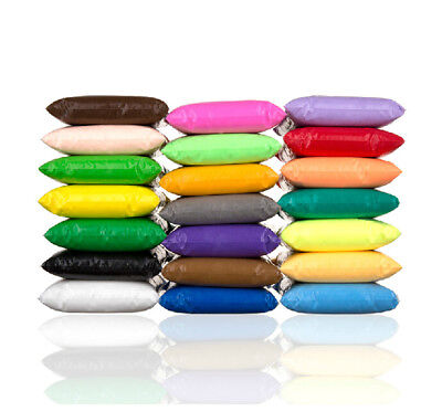 25 DIY Craft Malleable Fimo Polymer Modelling Soft Clay Block Plasticine TOY HIG