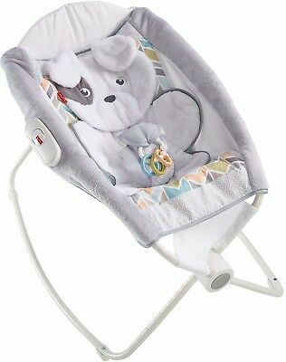 Fisher-Price Baby Rocker Sleeper Bed Side Play Seat Lightweight Best Incline New