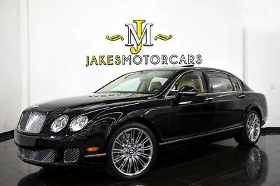 2013 Bentley Continental Flying Spur ($198,780 MSRP)...ONLY 12,000 MILES! 2013 CONTINENTAL FLYING SPUR~ $198,780 MSRP~ ONLY 12K MILES! ~ ONYX ON MAGNOLIA