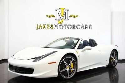 2014 Ferrari 458 Spider**$330K MSRP!* **SPECIAL ORDERED INTERIOR** 2014 FERRARI 458 SPIDER~$330K+ MSRP~SPECIAL ORDERED INTERIOR~ ONLY 5300 MILES