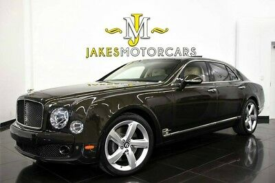 2016 Bentley Mulsanne Speed ~$404,007 MSRP! ~$205,000 OFF NEW!~ CURTAINS 2016 BENTLEY MULSANNE SPEED, $404,007 MSRP! 9K MILES, ENTERTAINMENT PKG, 1-OWNER