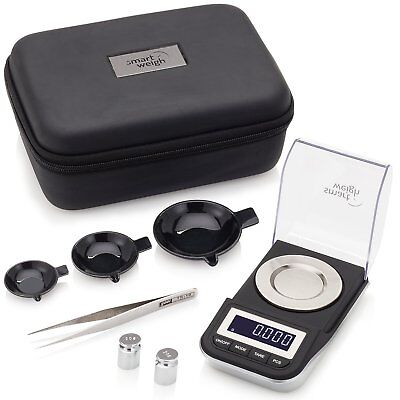 High Precision Scale Digital Milligram Jewelry Smart Weigh Portable Professional