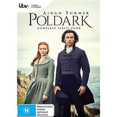 Poldark Season 4 Dvd, New & Sealed, 2018 Release, Region 4. Free Post