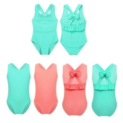 Baby Girls One-piece Backless Swimsuit Swimwear Bathing Swimming Suit Jumpsuit