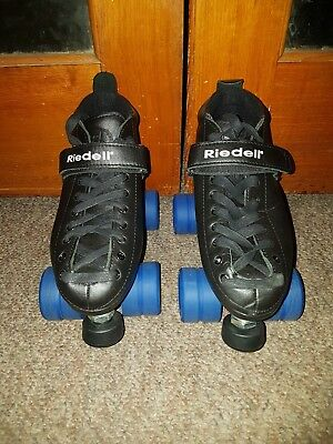 RIEDELL 165 Vixen Package Derby Skates - Six 6 (Plus wrench tool and laces)