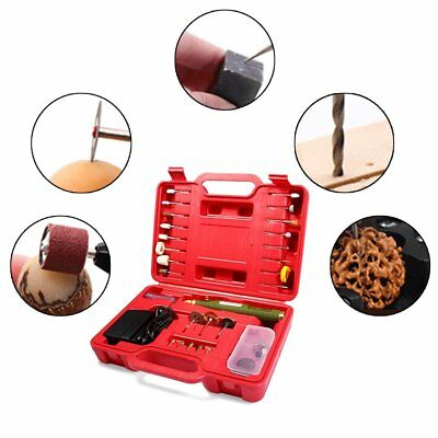 WL-800 Mini Electric Drill Grinder Set Micro-drilling Tool Kit with Carry Case A