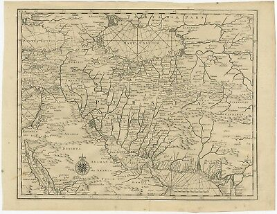Untitled Map of Persia - Valentijn (1726)