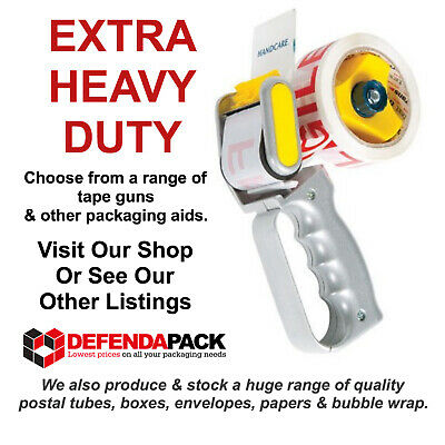 EHD50 EXTRA HEAVY DUTY QUALITY TAPE GUN DISPENSER 50mm Parcel Packing Tapes 24H