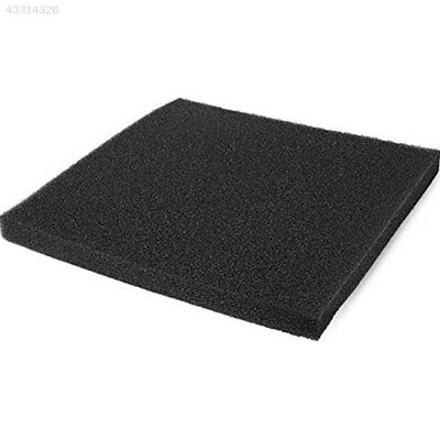 Aquarium Fish Tank Sponge Media Black Cut To Fit Foam Up Filter Pad Cotton
