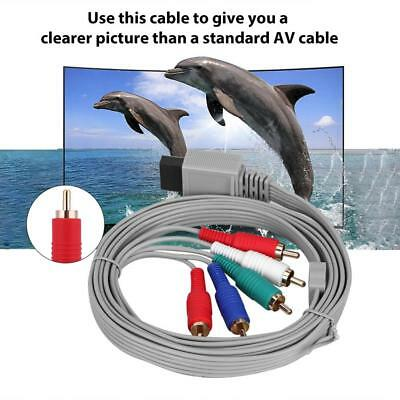 For Nintendo Wii/Wii U High Definition AV Audio Video HDTV Component Cable Cord