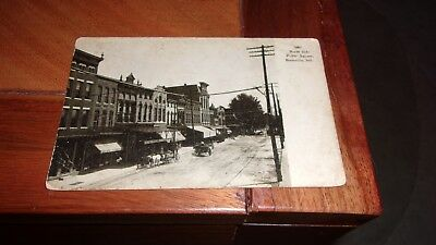 Boonville, Indiana Postcard - North Side Public Square