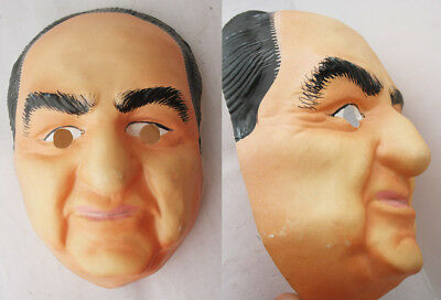Very Rare Vintage 80's Mitsotakis Greek Politician Mask Nd Greece New Nos !