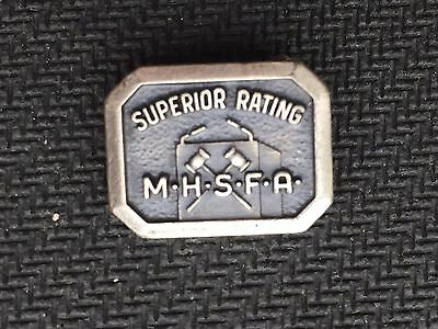 Vintage pin Superior Rating M.H.S.F.A. the Detroit News