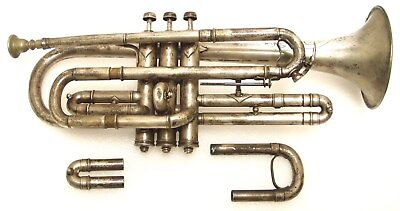 Vintage Lyon and Healy American Professional Model Cornet - Make an Offer!!