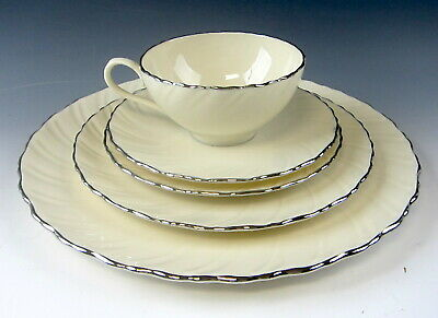 Lenox China WEATHERLY 5 Piece Place Setting(s) EXCELLENT