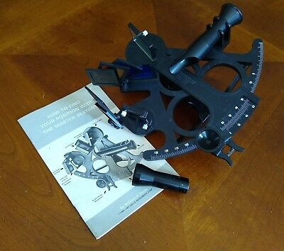 Vintage 1960s William A. Davis Instruments Corp. Sextant MADE in USA