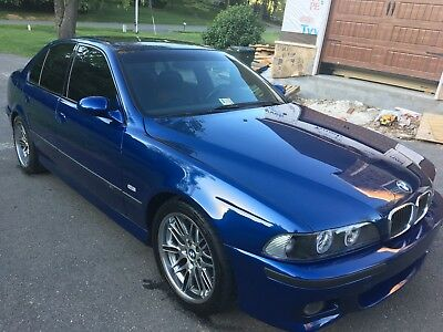 2002 BMW M5 M5 6sp Manual uperb 02 M5 6sp Manual   $74545 MSRP ONLY 57k 394HP WOW!