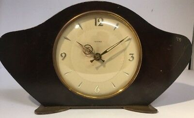 "Vintage ""tempora"" Mantle Clock. Electric. Spares Repairs Project Piece."