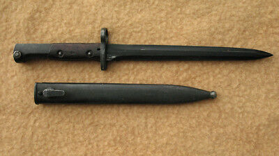 Argentine FN bayonet 49, issued condition, serial numbered