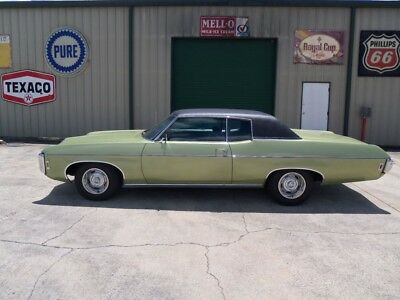 1969 Chevrolet Caprice -- 1969 Chevrolet Caprice Matching # 350/300HP Engine Factory A/C Super Nice Car