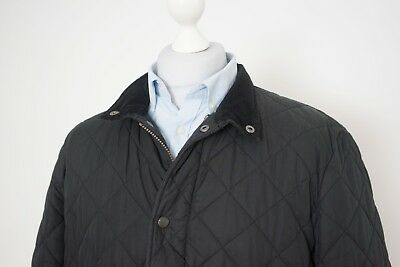 Barbour Chelsea Sportsquilt Quilted Black Jacket Size XL