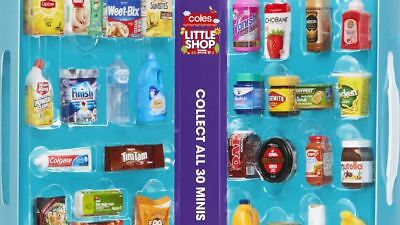 Coles Little Shop Mini Collectables ~ Perfect for your Family Collection