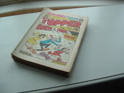 Topper Comics  31  Issues From The Eighties