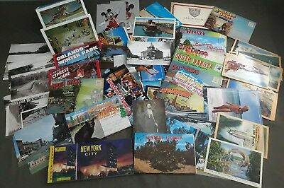 Lot Of Over 100 Vintage Antique Post Cards Early 1900's From ALL OVER!