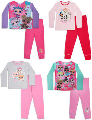 LOL SURPRISE DOLLS GIRLS PYJAMAS 4-5 Years