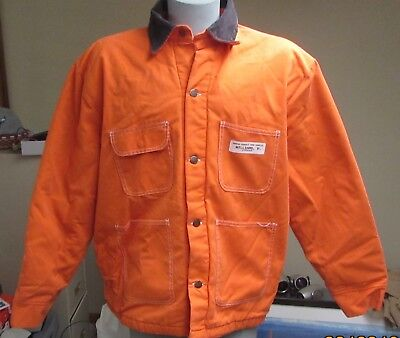 Bob Barker VTG CORRECTION COMPLEX Jacket Blanket Lined 3XL WITH INMATE NAME RARE