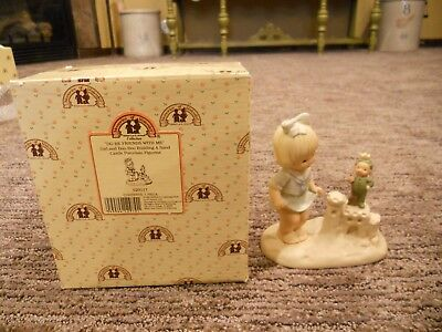 Vintage 1993 Enesco Memories of Yesterday Do Be Friends With Me IOB