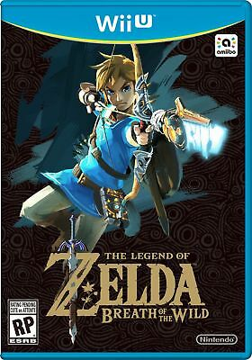 New The Legend of Zelda Breath of the Wild - Nintendo Wii U