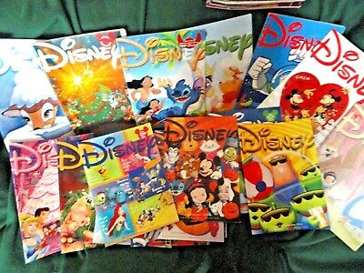 18 Disney Catalogs, 2002 Excellent mint free shipping