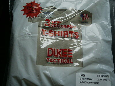 Original Us T-Shirts Dreier Pack Large Acu Made In Usa Neu