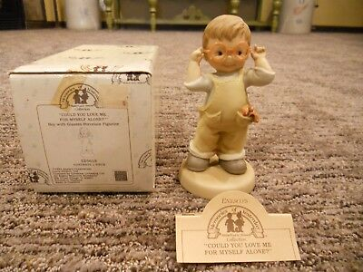 Vintage 1991 Enesco Memories of Yesterday Could You Love Me For Myself Alone IOB
