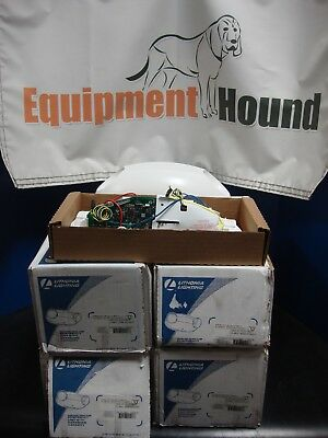 New Unused Lot Of 5 Lithonia Elm627 Sd90 Emergency Lights No Lamps