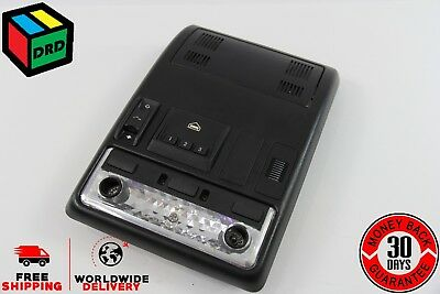 00-06 BMW X5 Black Overhead Console Dome Map Lights Sunroof Switch Garage OEM
