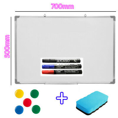700 X 500MM Office School Magnetic Dry Whiteboard Drawing Memo Notice Board S247