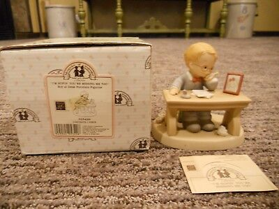 Vintage 1991 Enesco Memories of Yesterday I'm Hopin' You're Missing Me Too IOB