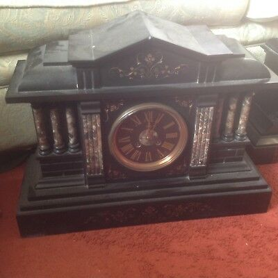 Marble clock for spares or repairs