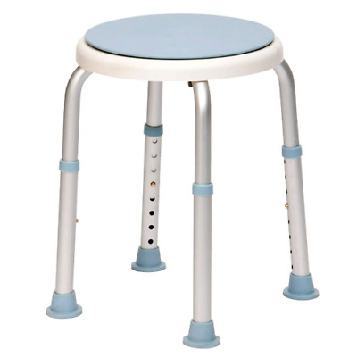 Drive DeVilbiss Healthcare Rotating Rounded Bath/Shower Stool with Swivel Seat