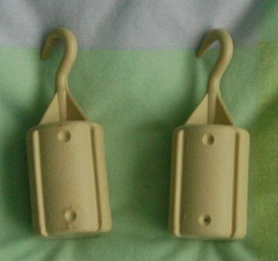Pair of large ribber weights