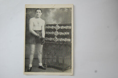 Boxer Jock McAvoy signed photo